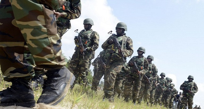 410 terrorists surrender in Nasarawa, bomb factory destroyed ? Military