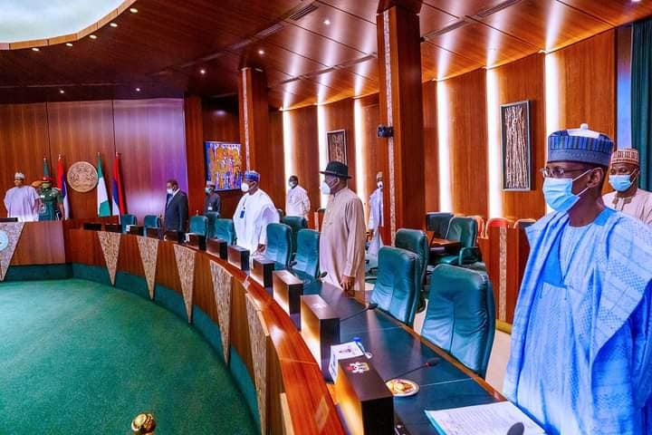 President Buhari presides over virtual Council of State meeting (photos)