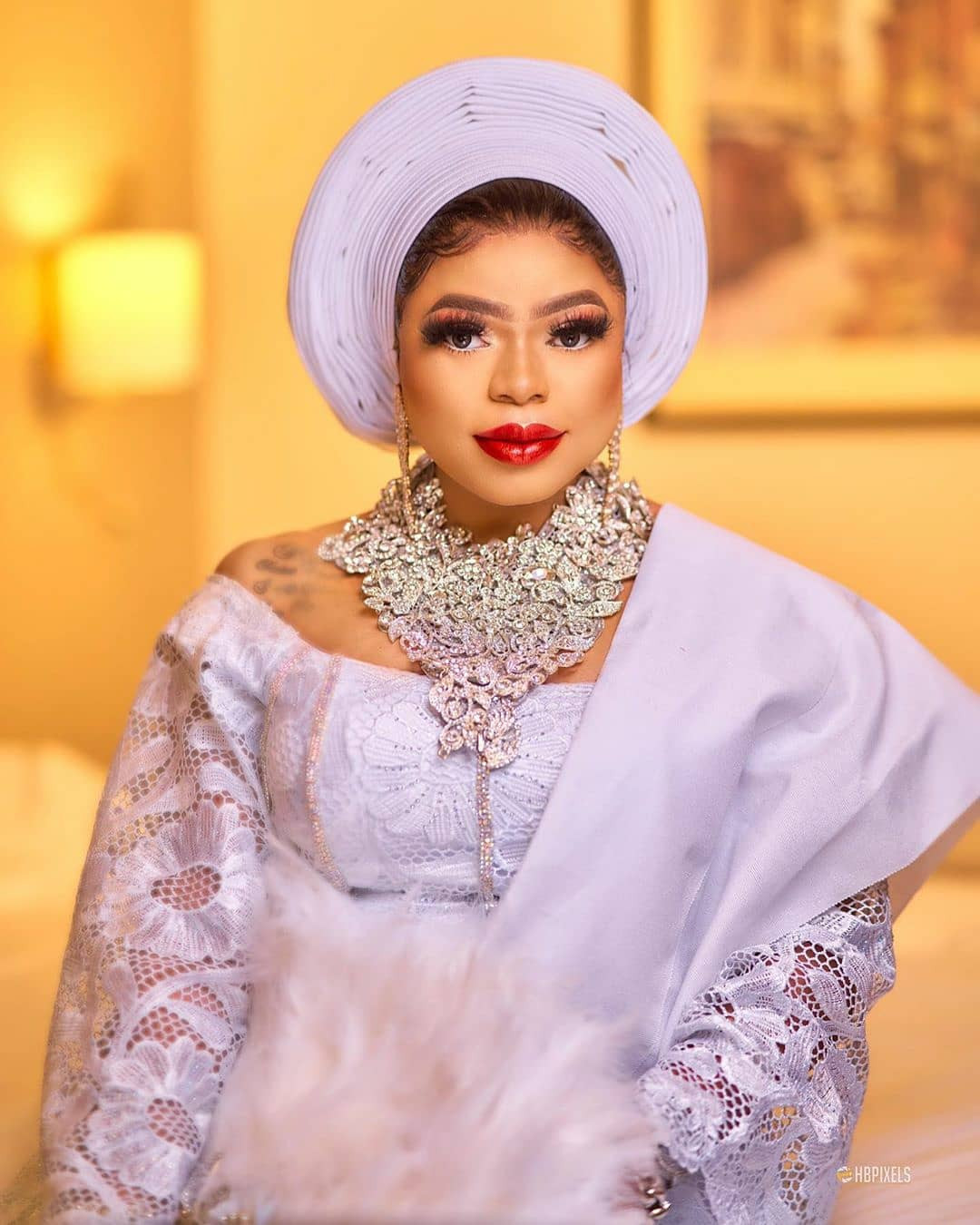 Bobrisky dazzles in new photos