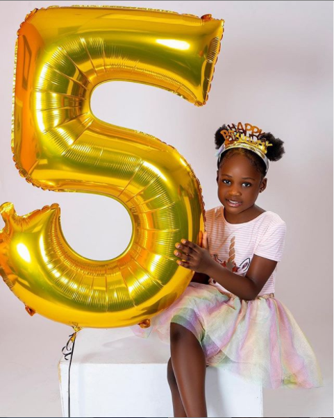 Ubi Franklin celebrates his daughter Zaneta on her 5th birthday (photos)