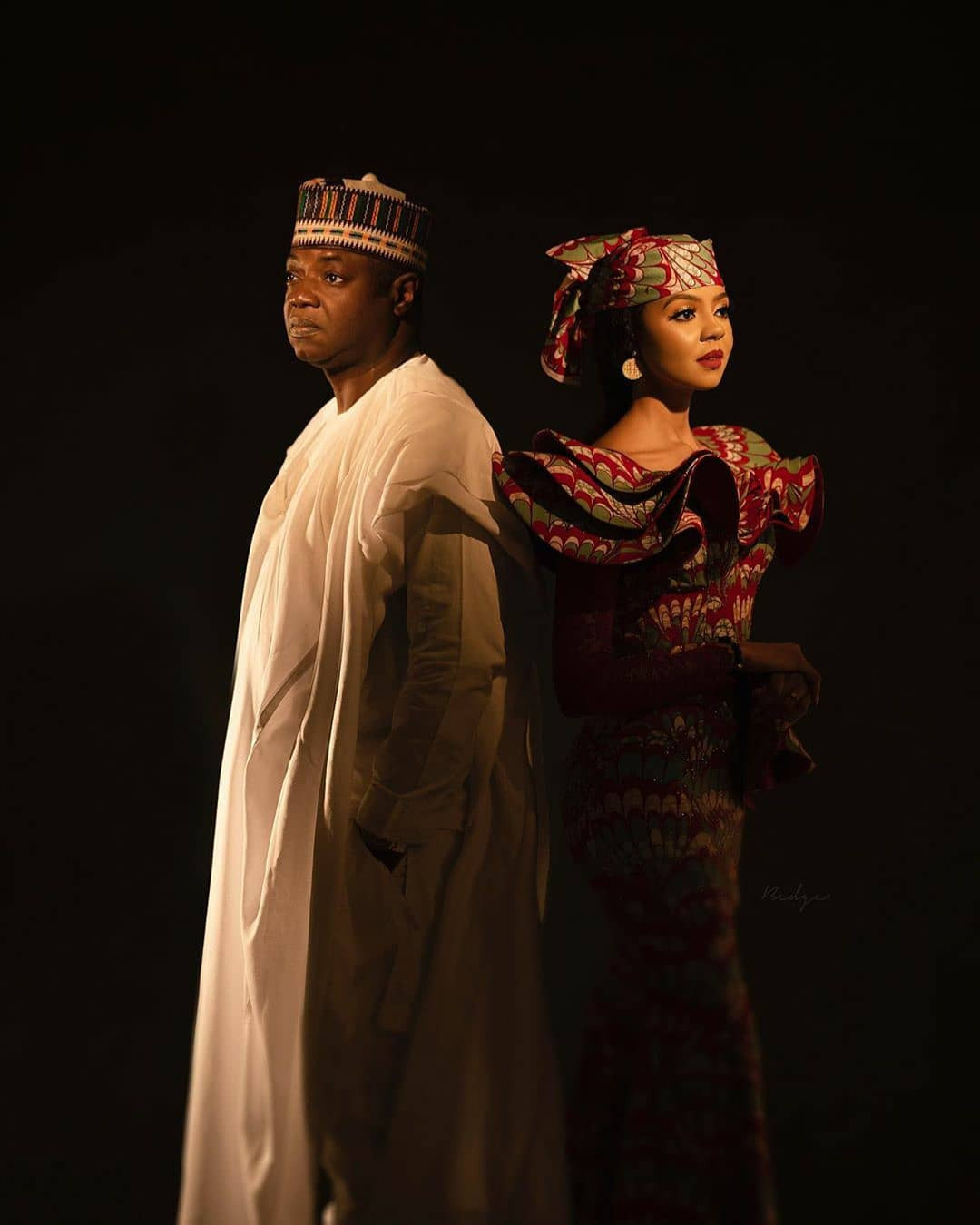 Lovely pre-wedding photos of Adama Indimi and her hubby, Malik Ado-Ibrahim