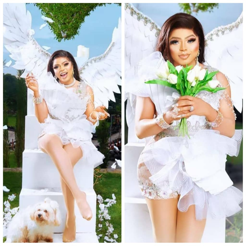 Bobrisky shares more stunning photos as he turns a year older today