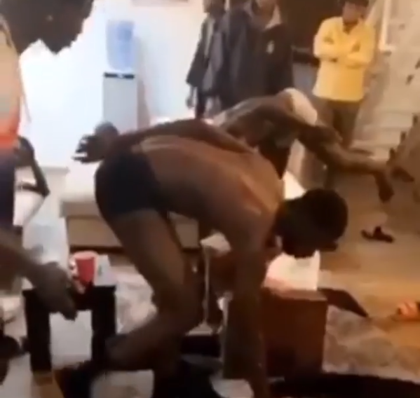 Yahoo boys track down and punish other yahoo boys who defrauded them (video)