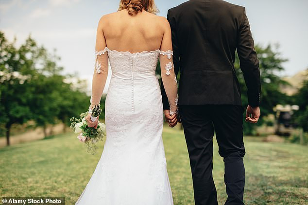 Bride, 33, fighting for her life after suffering a