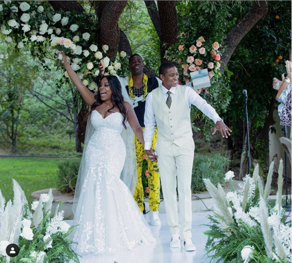 Hollywood actress, Niecy Nash, 50, marries a woman 6-months after divorcing her husband of 8-years, Jay Tucker