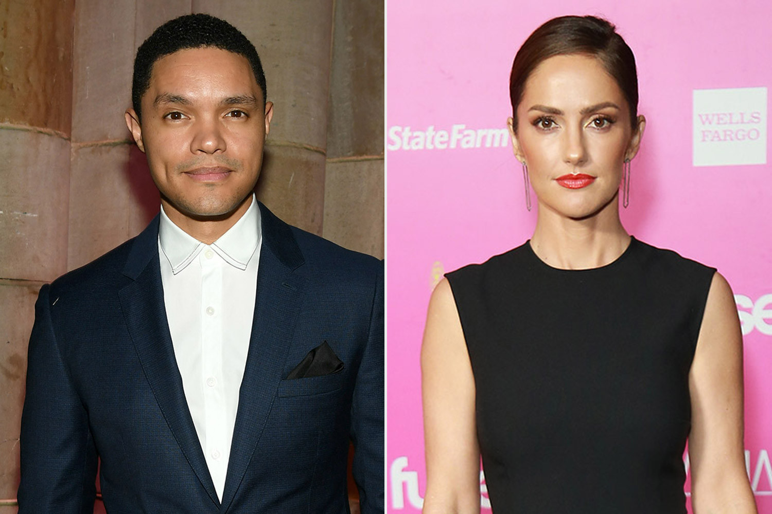 Talk show host, Trevor Noah reportedly dating actress, Minka Kelly
