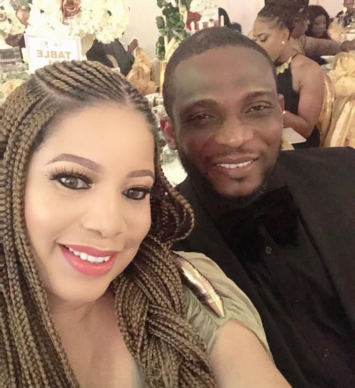 Monalisa Chinda celebrates her wedding anniversary with husband Tonye Coker