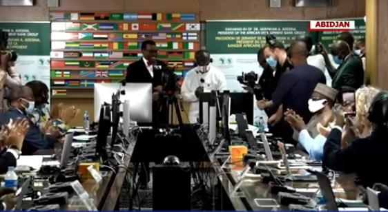 Akinwunmi Adesina sworn in for second term as AfDB president (photos)