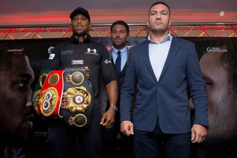Anthony Joshua's fight against Kubrat Pulev 'scheduled for December 12 at  London's O2 Arena