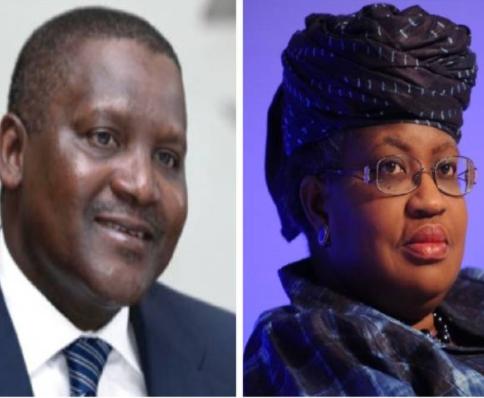 Dangote endorses Ngozi Okonjo-Iweala for World Trade Organization DG Job