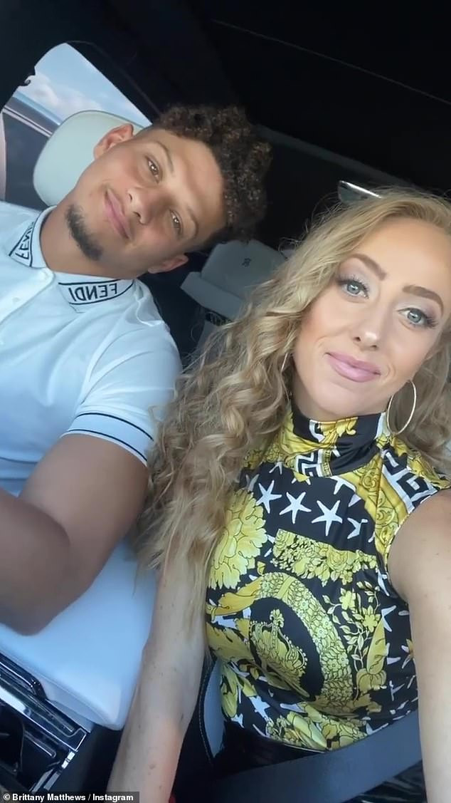 NFL star, Patrick Mahomes proposes to his longtime girlfriend two months after signing?the richest deal in sports history (Photos)