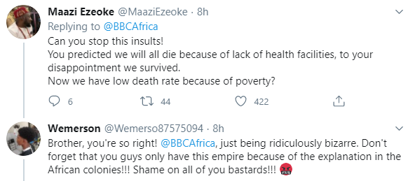 Africans bash BBC Africa over their article with the headline