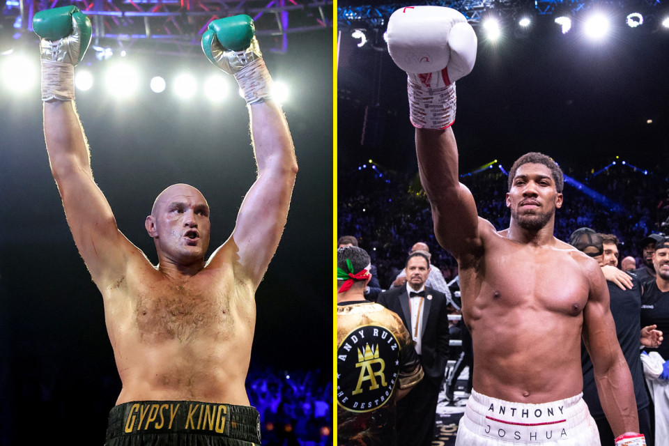 """""""Tyson Fury is 5 or 6 years ahead of me but i don?t find him intimidating""""- Anthony Joshua"""
