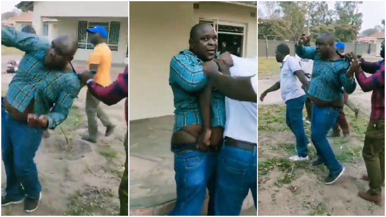 Man beaten after being caught trying to sleep with boss