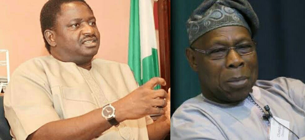 Only Buhari can disagree with Obasanjo and survive it - Femi Adesina