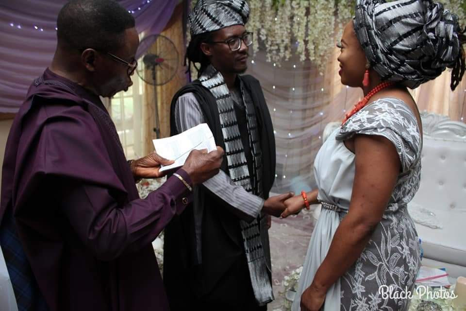 Rapper, Jesse Jagz ties the knot with his girlfriend (photos)