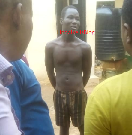 Photo of the security man who allegedly killed a bride-to-be and buried her in a shallow grave