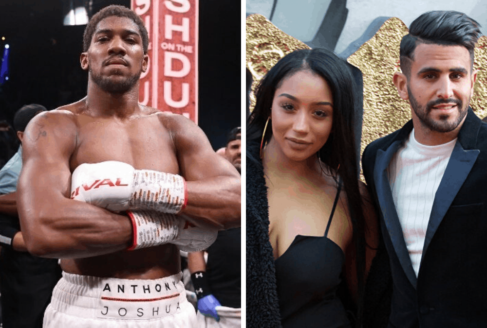 Anthony Joshua denies dating wife of Manchester City star ...