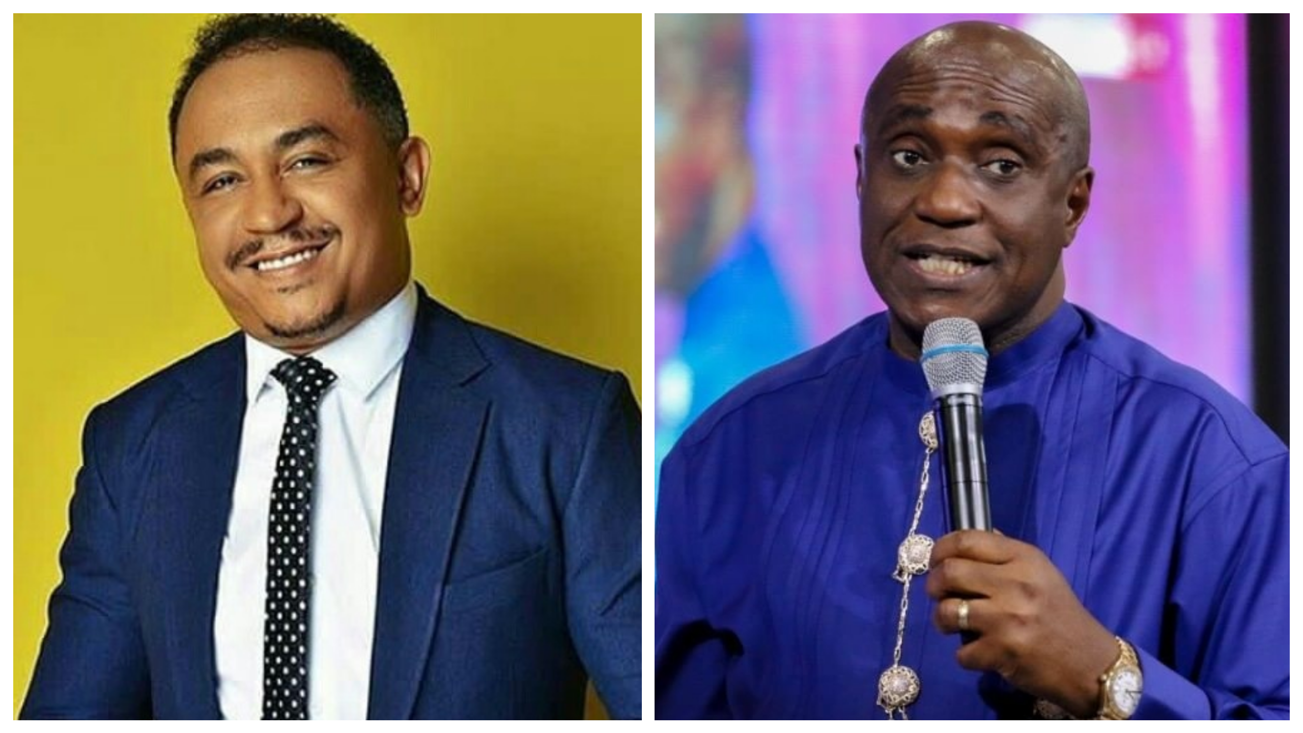 """I curse the day he was born"" Pastor Ibiyeomie attacks DaddyFreeze for always 'insulting' Bishop Oyedepo"
