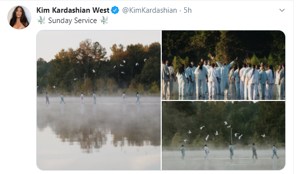 Kanye West, Joel Osteen and the Sunday Service Crew walk on water (videos)