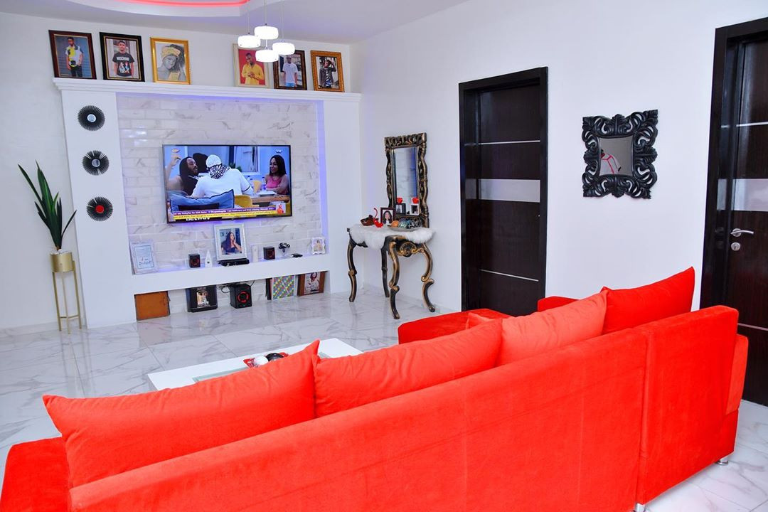 Check out the interior of Iyabo Ojo