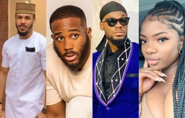 #BBNaija: Prince, Kiddwaya, Ozo and Dorathy nominated for eviction