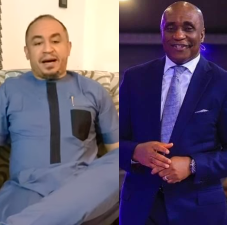 Daddy Freeze responds to Pastor David Ibiyeomie after the latter called him a bast*rd and cursed the day he was born (video)