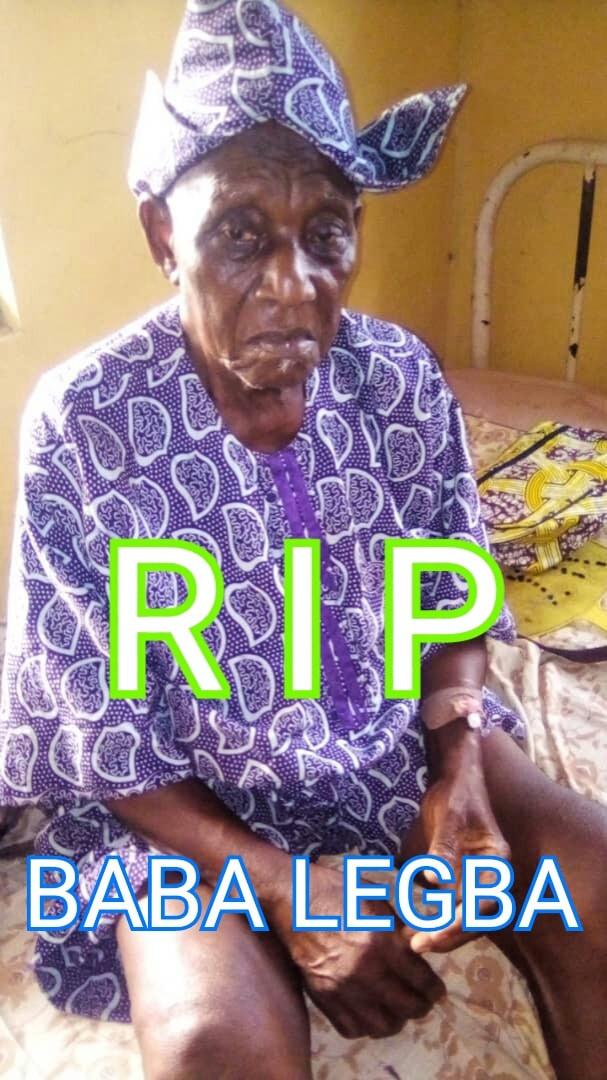 Veteran actor, Yekini Oyedele