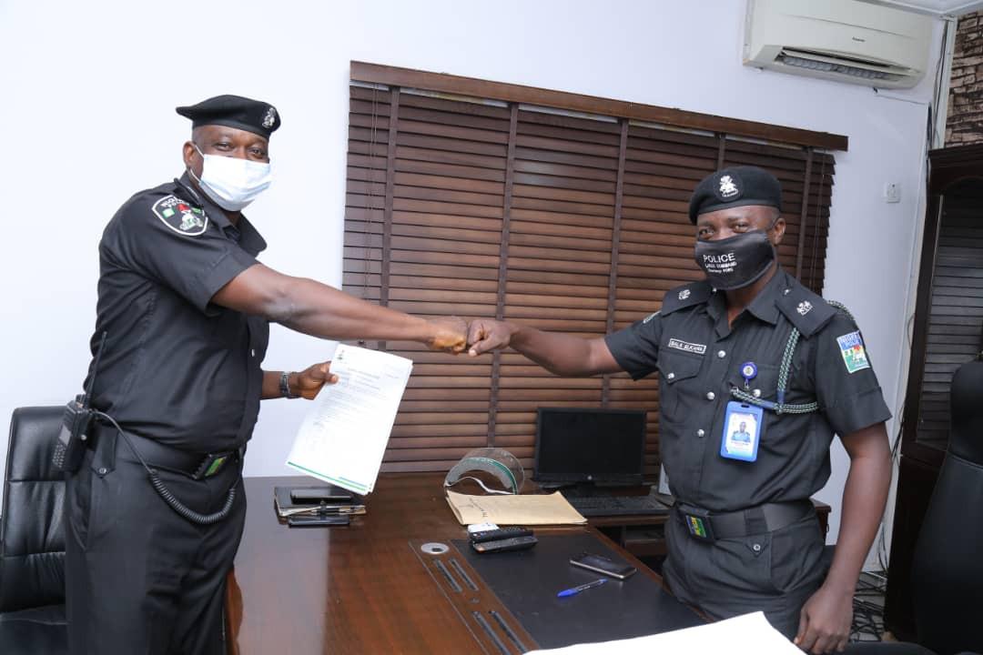 Lagos state police command gets new spokesperson, SP Olumuyiwa Adejobi (photos)