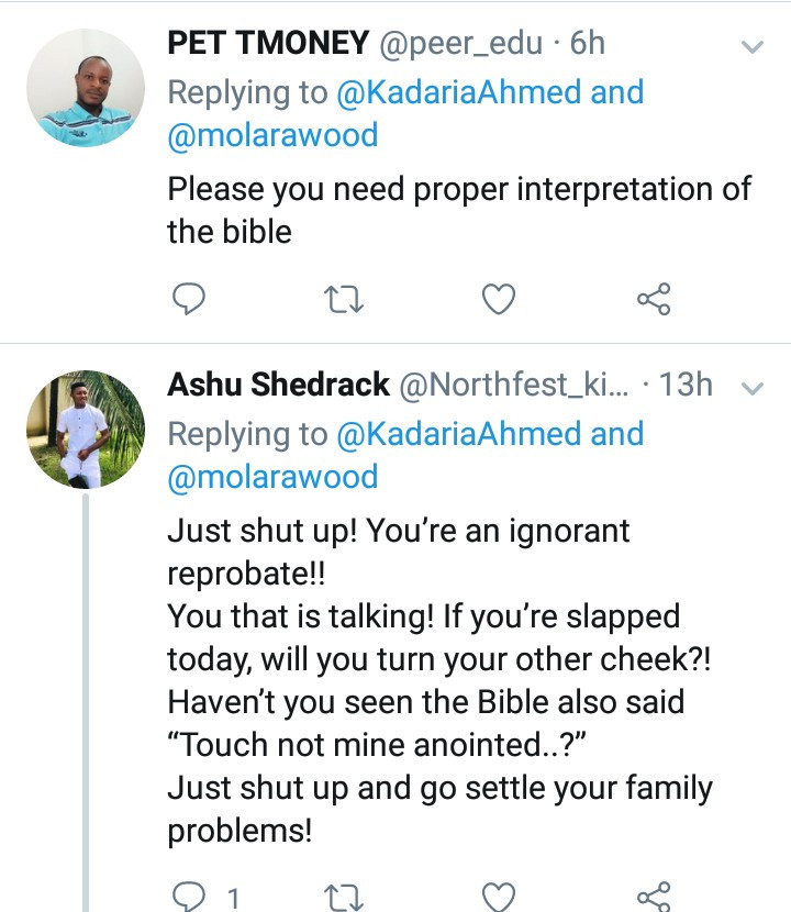 """People are getting killed for blasphemy in your religion but pastors are your problem"" Kadaria Ahmed is blasted for criticizing Pastor Ibiyeomie but staying silent about death sentence on Kano singer"