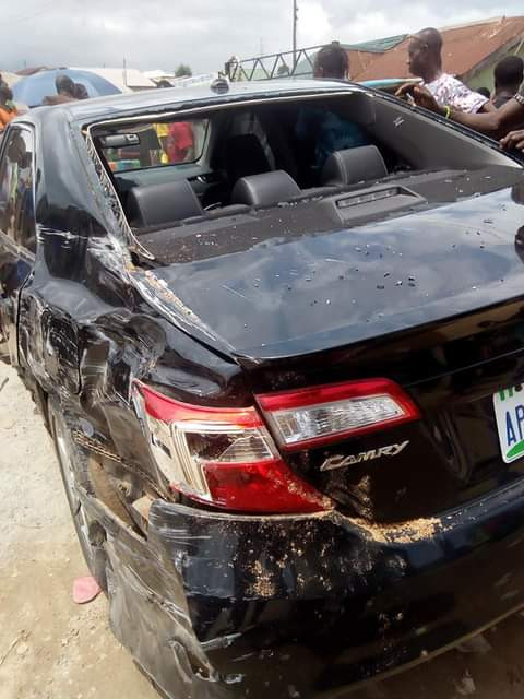 Scores escape death as truck rams into vehicles in Abuja
