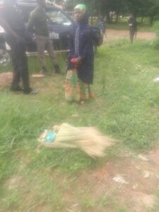 7-year-old girl slaughtered by unknown woman for ritual purpose while hawking brooms in Jos