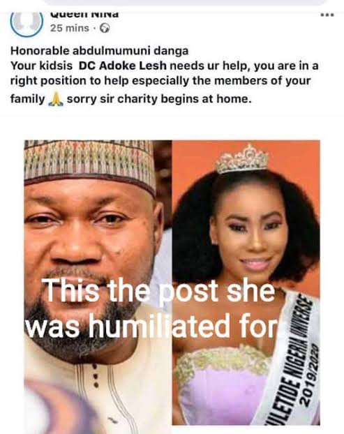 Kogi commissioner, Abdulmumuni Danga to be arraigned in court for rape, torture and coercion after he allegedly assaulted a beauty queen