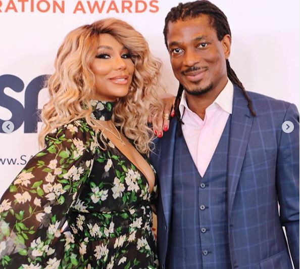 Update: Tamar Braxton claims her Nigerian boyfriend assaulted her and threatened to kill her in a