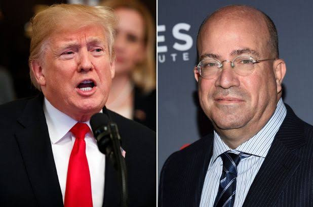 Hear leaked audio of CNN chief Jeff Zucker praising Trump and offering to give him a weekly show on the network