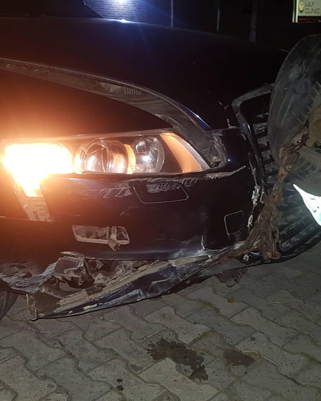 Liz John Black survives ghastly accident in Lagos