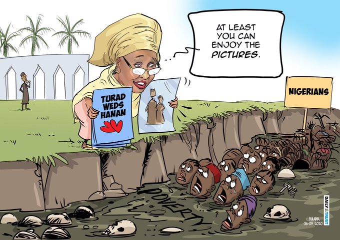 My cartoon on Hanan Buhari?s wedding meant no harm - Mustapha Bulama