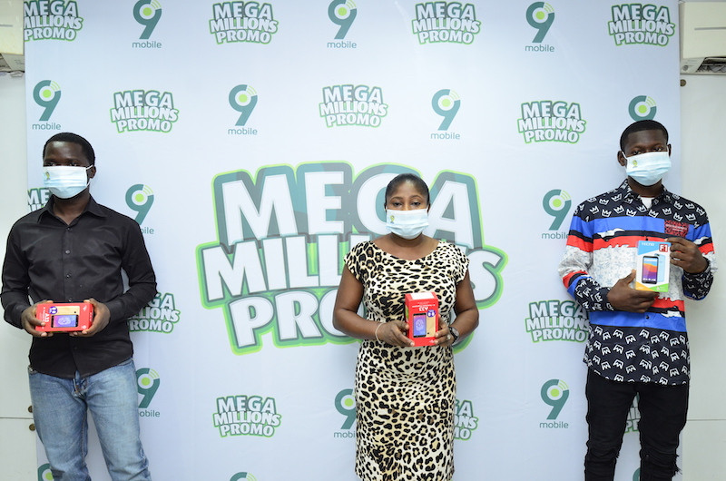 9mobile Mega Millions Promo meets, exceeds expectations as winners laud initiative