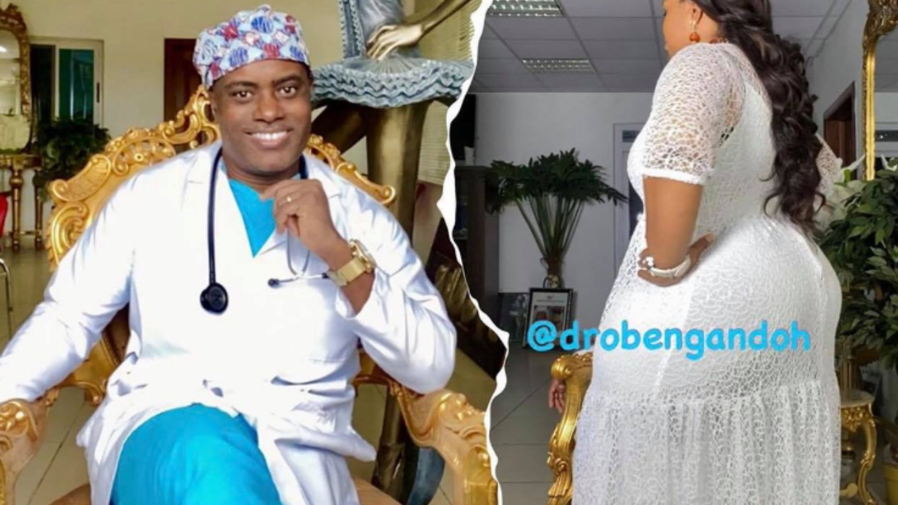 I intentionally shaped my wife?s body for myself to enjoy ? Ghanaian plastic surgeon, Dr Obengfo