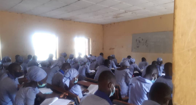 WAEC conducts exams in Chibok 6 years after abduction of schoolgirls (photos)