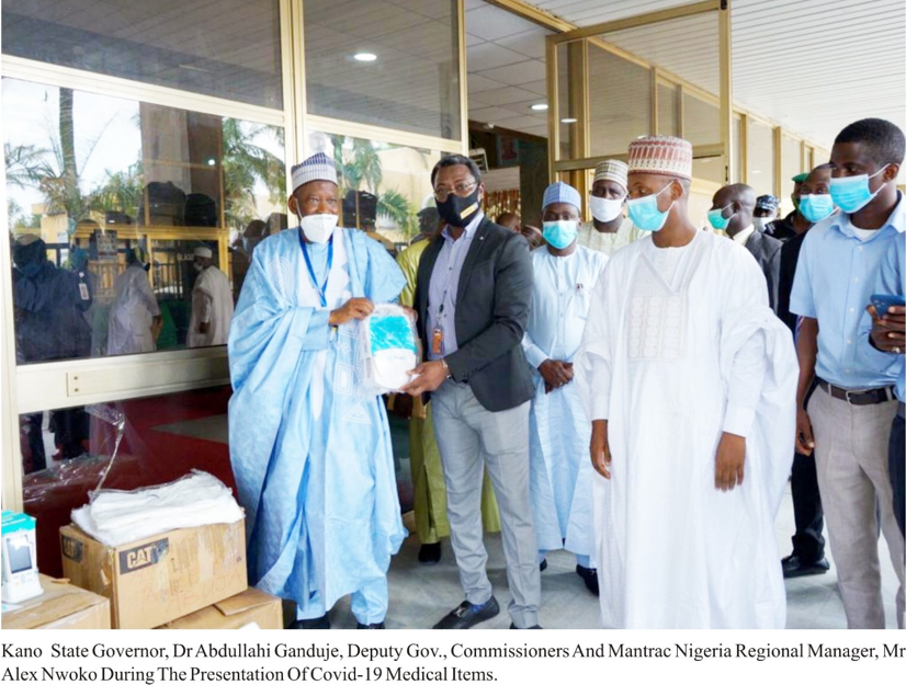 COVID-19: NCDC & States applaud Mantrac Nigeria for donating Medical equipment, Test kits and PPEs