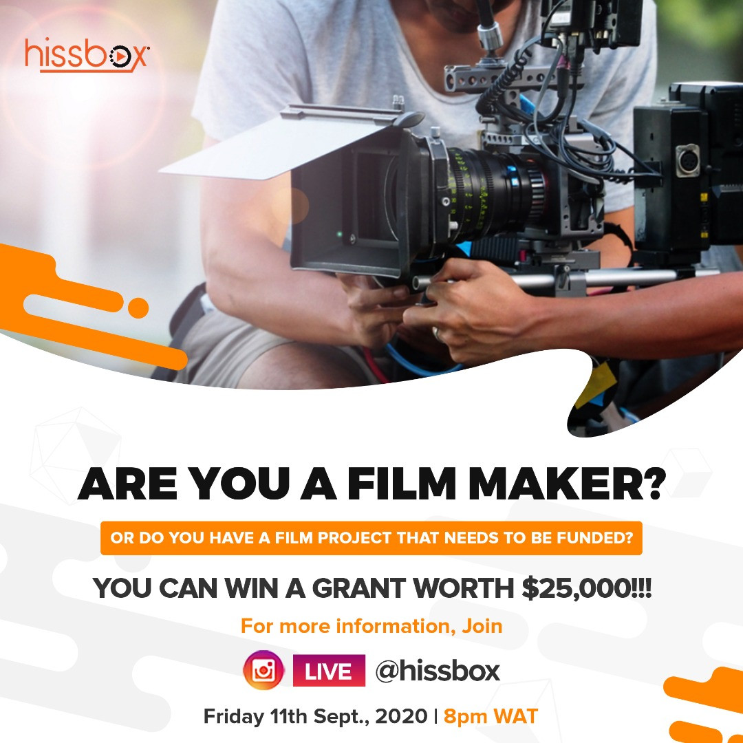 Telling Untold Stories: Streaming service ?Hissbox? launches with a grant of $25,000 for young filmmakers