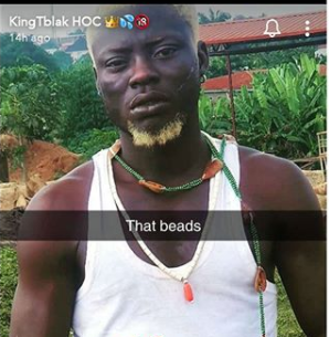 Nigerian pornstar, Kingtblakhoc reportedly arrested for using Ifa worshippers