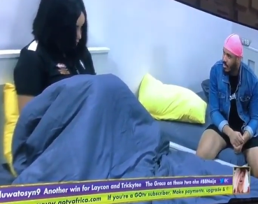 #BBNaija: I am a distraction. Leave me- Nengi tells Ozo after he was issued a second strike (video)