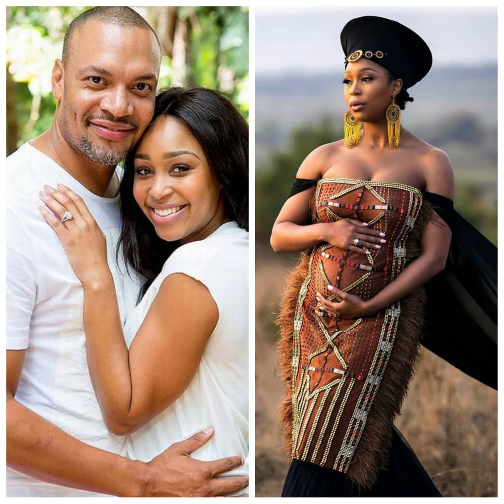 South African TV personality, Minnie Dlamini and hubby, Quinton Jones, expecting their first child
