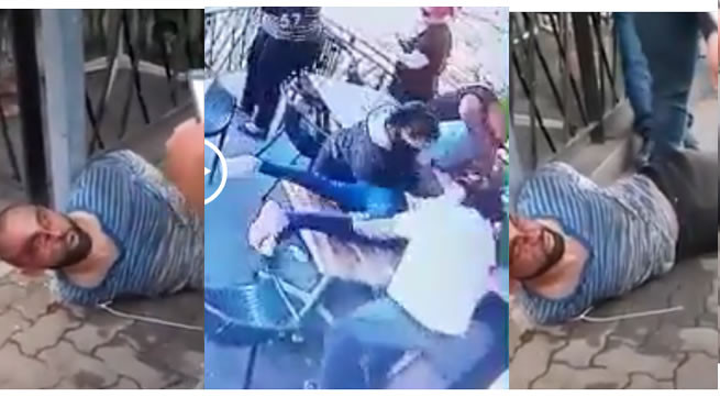 Shocking CCTV footage of moment a man tried to kidnap a 4-year-old child in a restaurant