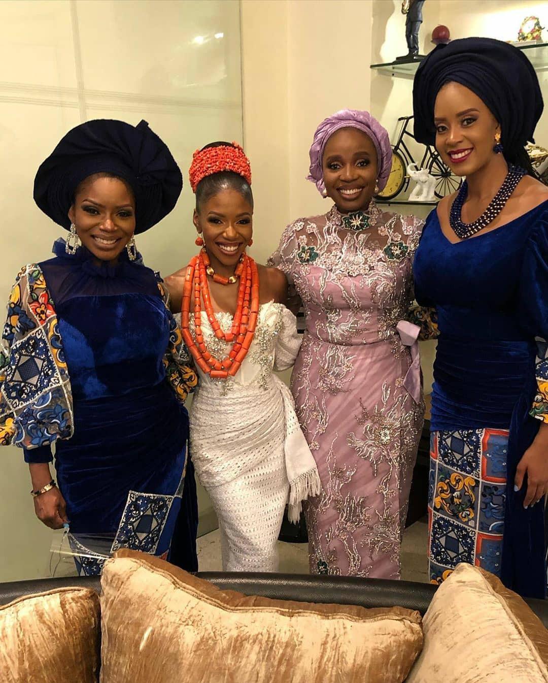 Photos from the traditional wedding of late Pastor Bimbo Odukoya