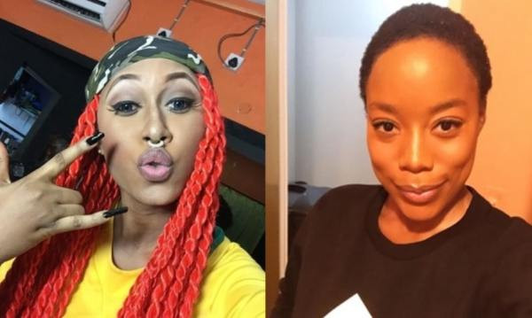 Old witch with the scriptures - Cynthia Morgan slams former manager, Joy Tongo days after she attached