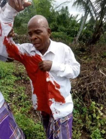 Lawmaker, LG boss, PDP Chairman escape death as masked gunmen storm burial ceremony in Rivers, abduct several, injure others