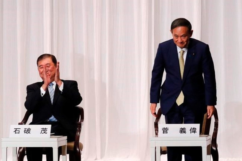 Yoshihide Suga picked to succeed Shinzo Abe as Japan